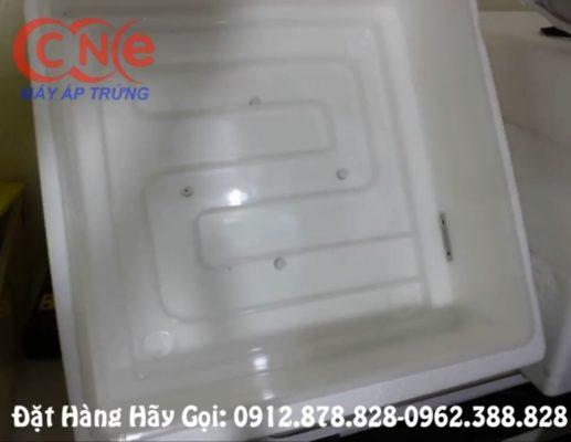 Rãnh nước thiết kế dưới mặt đáy máy cn56