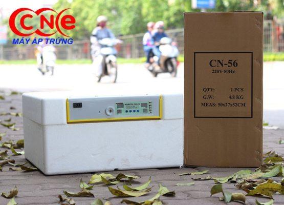 Máy ấp trứng cn56 được bọc lớp xốp giữ nhiệt