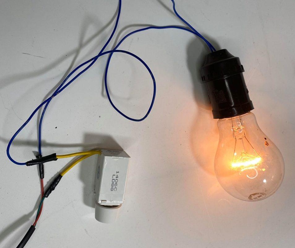 ấp trứng bằng bóng điện
